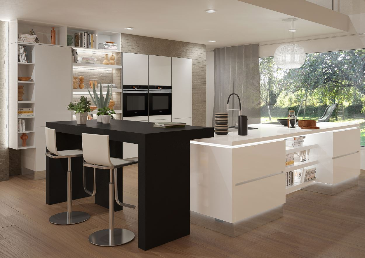 3 conseils de pro pour une cuisine moderne ixina. Black Bedroom Furniture Sets. Home Design Ideas